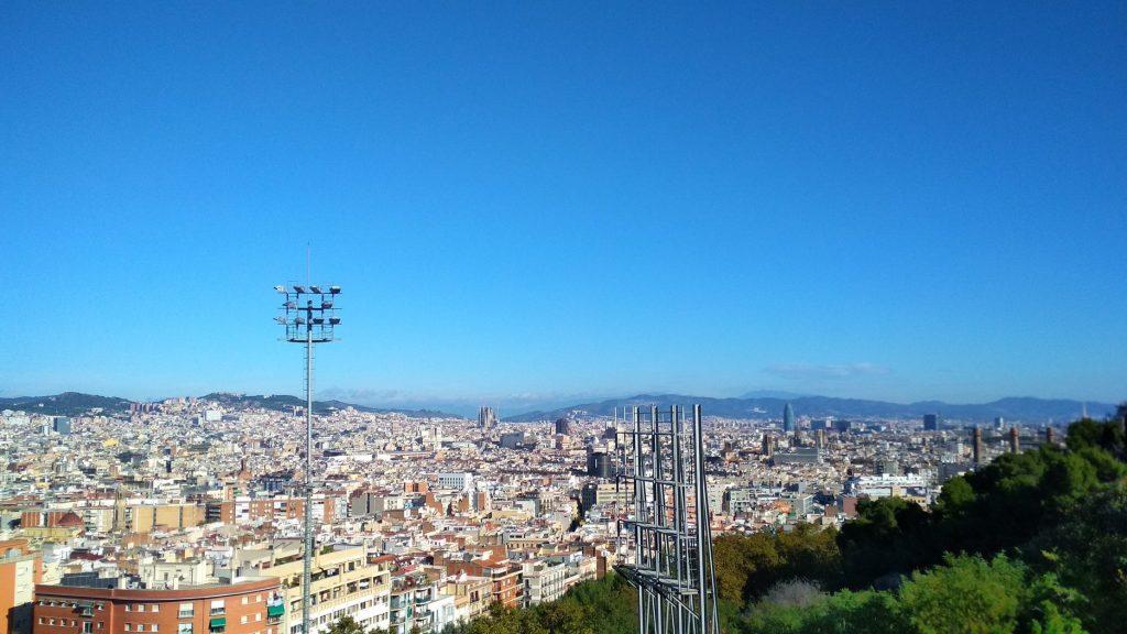 Barcellona. Andana. Vestíbul.